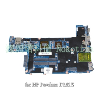 Hp Pavilion DM3 NOKOTION 600818-001 laptop anakart AMK125 CPU DDR3