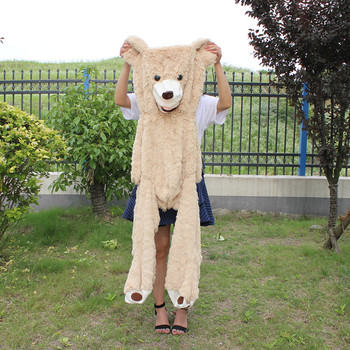 130cm Giant Bear Hull American Bear Teddy Bear Skin Factory Price Soft Toy Gifts For Girls