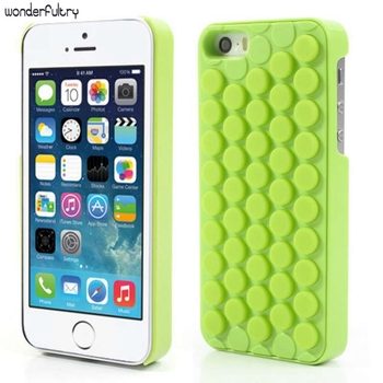 Wonderfultry Kapak iPhone SE Stresi Azaltmak Için Yenilik PoP Ses Bubble Wrap Vaka Kabuk için iPhone SE 5 s 5 Ilginç Gadget